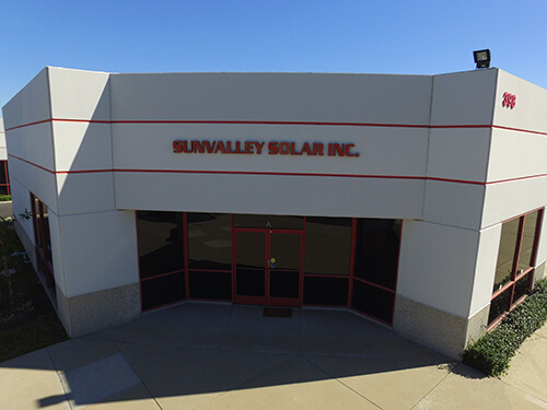 Sunvalley Solar Building